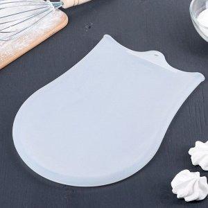 Мешок для замешивания теста Доляна «Бронк», 35?22 см, цвет белый