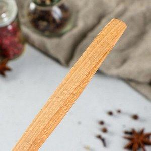 """Ложка деревянная """"Столовая"""", 22 х 5 см, массив черешни"""