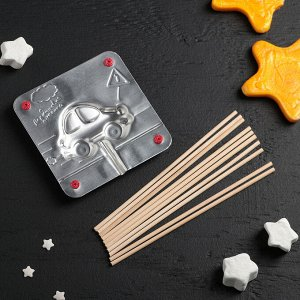 Набор для приготовления леденцов и мармелада «Машинка», цвет МИКС 2603601