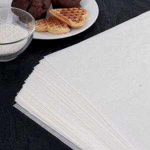 Бумага для выпечки, профессиональная 38 х 42 cм Nordic EB Golden, 500 листов, силиконизированная 4077356