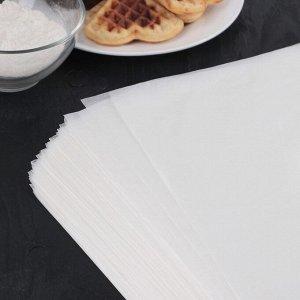 Бумага для выпечки, профессиональная 60х80 см Nordic EB, 500 листов, силиконизированная 4077355