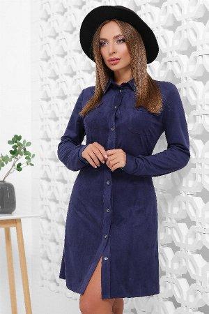 Платье 1842 синий