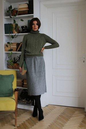 Юбка миди Полиэстер 100% Рост: 164-170 см. Эффектная плиссированная юбка длинны миди, сделает Ваш образ женственным и утончённым. Юбка на резинке и на подкладке. Длина 76 см.