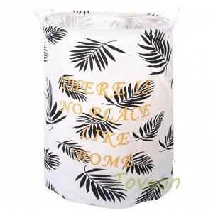 Корзина для белья большая, текстильная к-0211
