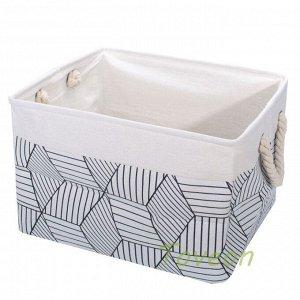 Набор корзин текстильных, для белья к-0501 (1-3)