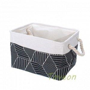 Набор корзин текстильных, для белья к-0502 (1-3)