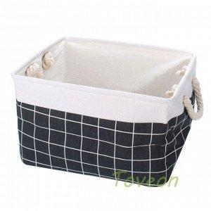 Набор корзин текстильных, для белья к-0503 (1-3)