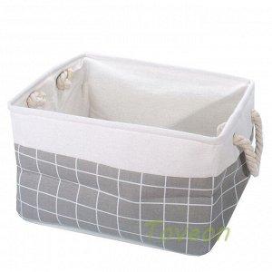 Набор корзин текстильных, для белья к-0504 (1-3)