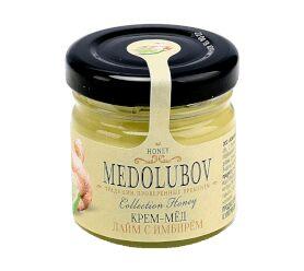 Крем-мёд Медолюбов лайм-имбирь 40мл