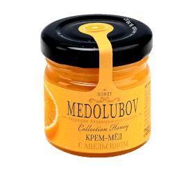 Крем-мёд Медолюбов с апельсином 40мл
