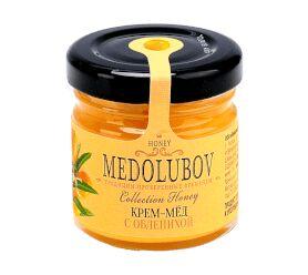 Крем-мёд Медолюбов с облепихой 40мл