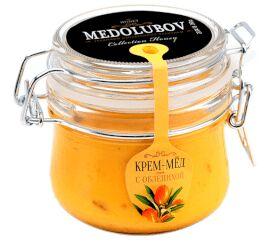 Крем-мед 250 мл (бугель) с облепихой
