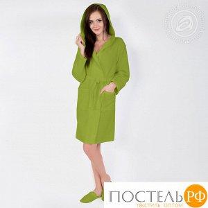 Фисташка  Халат банный c капюшоном мод. 012.16.11 раз 5XL