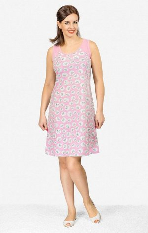 Сорочка женская, розовый (533-1)