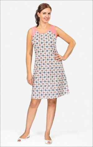 Сорочка женская, розовый (501-2)