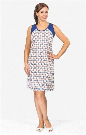 Сорочка женская, голубой (501-1)