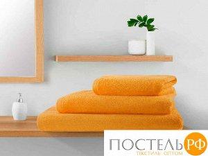 Полотенце махровое Guten Morgen, цвет:оранжевый 100х150