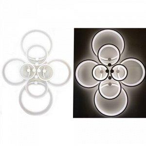 37-MX2280-2+2+2+2 WH DIM Люстра светодиодная с ПДУ (диммер) (1х1)