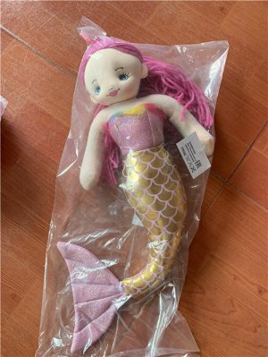 Кукла-русалочка мягконабивная BAC8708 (1/84)