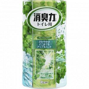 "Жидкий ароматизатор для туалета ""SHOSHURIKI"" (Мята и яблоко) 400 мл"