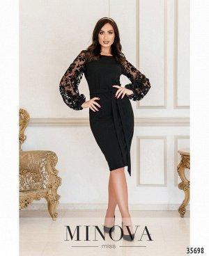 Платье №17690-1-черный
