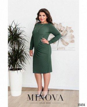 Платье №0231-зелёный