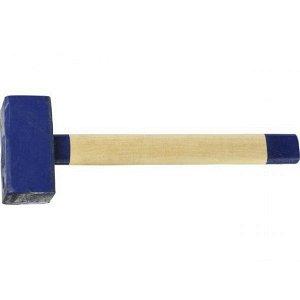 СИБИН 2 кг кувалда с деревянной рукояткой