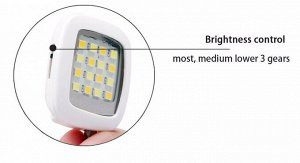 Вспышка для смартфона для селфи RK-05 IBLAZR LED FLASH