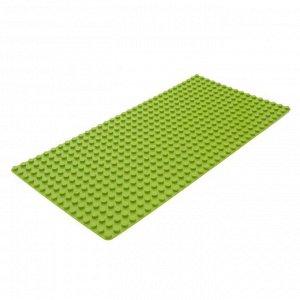 Пластина-основание для блочного конструктора 51 х 25,5 см, цвет салатовый