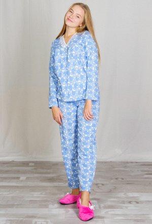 Пижама женская, футер