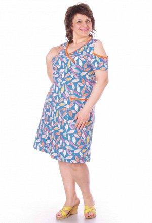 Платье 006 цвета в ассортименте Состав: хлопок 100% Описание: Легкое летнее платьице из кулирного полотна. На плечах кокетливые вырезы. Накладные карманы, v-образный вырез горловины и рукава отделаны