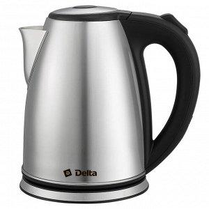 Чайник электрический 2200 Вт, 1.8 л DELTA DL-1355 черный