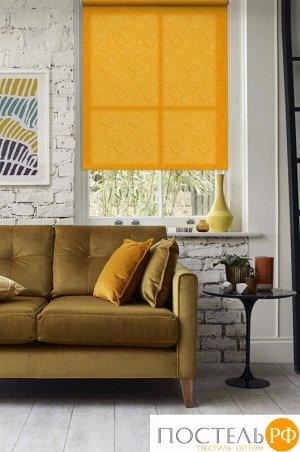 Рулонные шторы, Адель, Оранжевый, 115х160, 5660115160