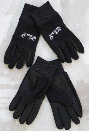 Перчатки мужские, флис с вышивкой