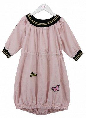Платье Deloras 20094 Бледно-розовый *