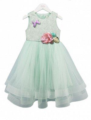 Платье Deloras 18107F Мятный *