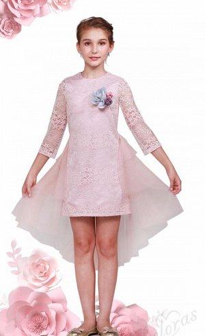 Платье Deloras 20005 Бледно-розовый *