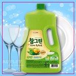 """LION Средство для мытья посуды, овощей и фруктов """"CHAMGREEN"""" Зеленый чай, флакон"""