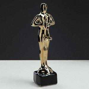 """Статуэтка """"Оскар-самец"""". покрытие булат. под нанесение. 25 см"""