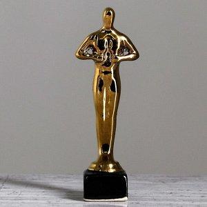 """Статуэтка """"Оскар"""". покрытие булат. под нанесение. 10.5 см"""