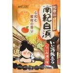 """220375 """"Hakugen Earth"""" """"Банное путешествие"""" Увлажняющая соль для ванны с восстанавливающим эффектом  с экстрактами мандарина, ко"""