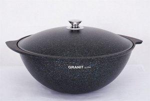 Казан для плова 7л, АП линия «Granit Ultra» (Blue)