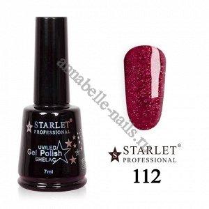 Гель-лак Starlet Professional №112 «Клубничный фейерверк»