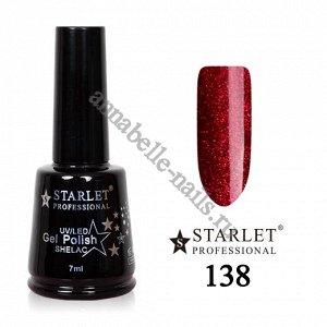 Гель-лак Starlet Professional №138 «Зимняя вишня»