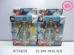 """899-9 трансформер -робот """"Воины земли"""", в коробке 773427 R"""