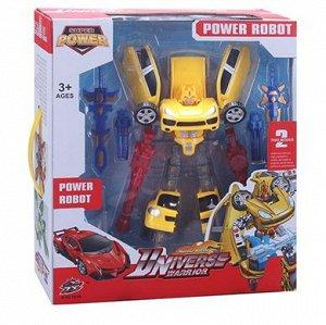 015-10 трансформер-робот, в коробке 200067567