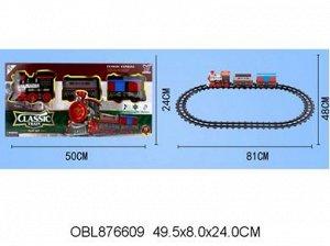 866 А-3 железная дорога на батар.,81 см. в коробке 876609