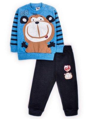 Комплект для мальчика: штанишки и кофточка