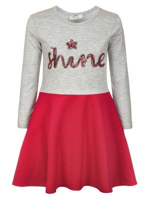 Платье для девочки с пайетками