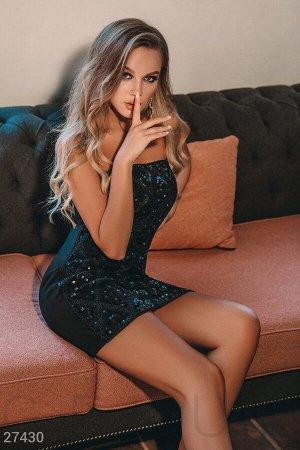 Вечернее платье-бандо